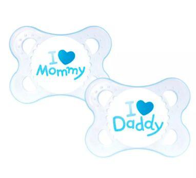 Chupeta Mam I Love 0 a 6 meses (Azul)