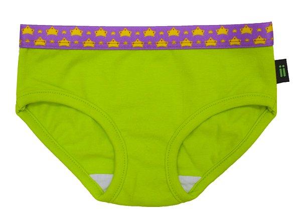 Calcinha Gumii Bikini Laranja e Verde