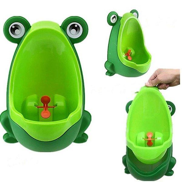 Mictório Infantil Sapinho Verde Clingo