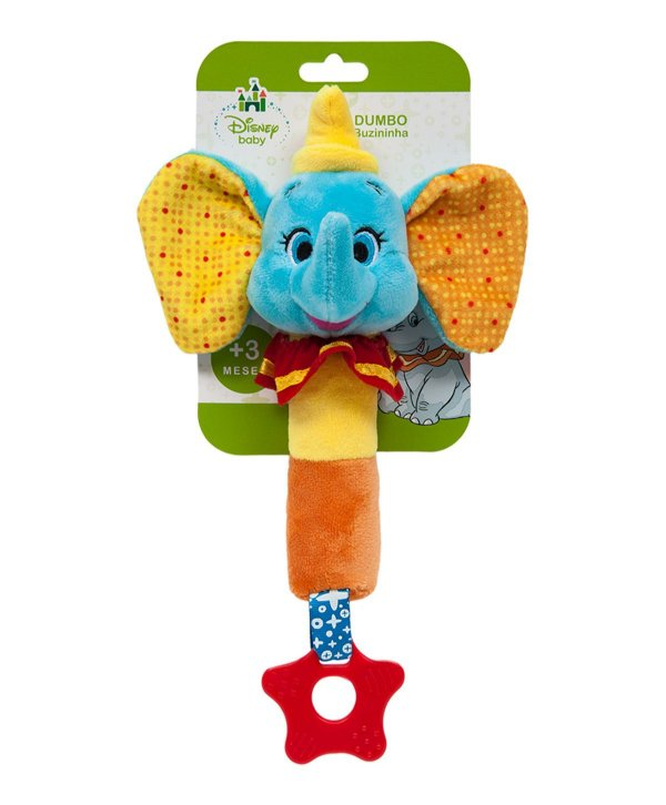 Mordedor Buba com buzina Dumbo Disney