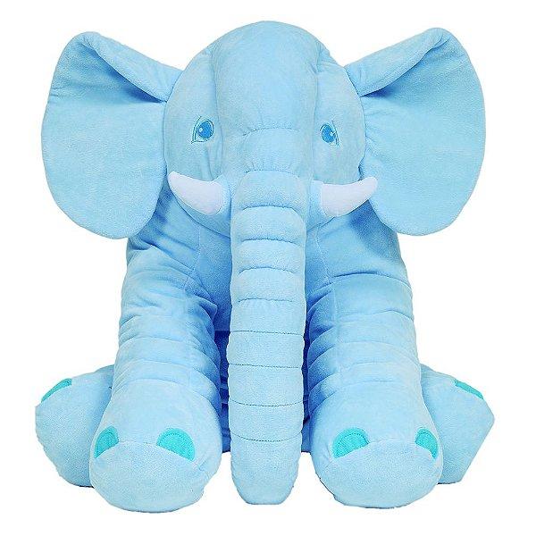 Almofada Elefante Gigante Azul