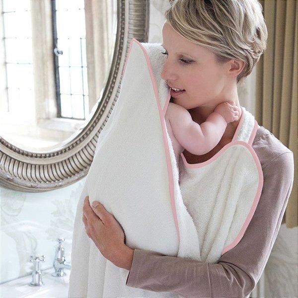 Toalha Cuddledry Infanti Rosa