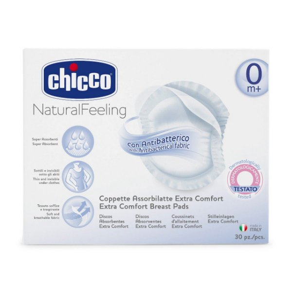 Discos Absorventes Anti Bacterianos Chicco (30unid)