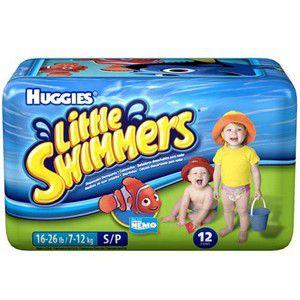 Fralda Huggies Little Swimmers - Tamanho P (7 a 12kg)