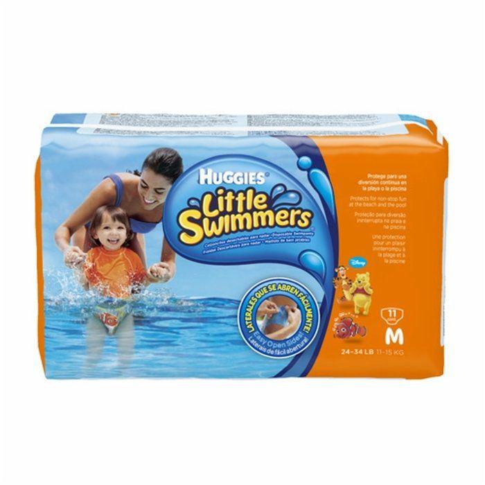 Fralda Huggies Little Swimmers - Tamanho M (11 a 15kg)