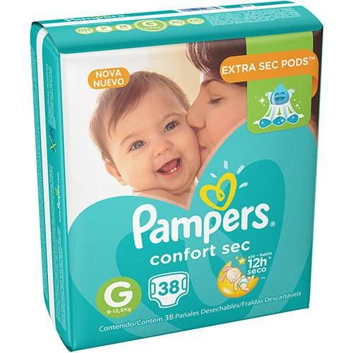 Fralda Pampers G Confortsec