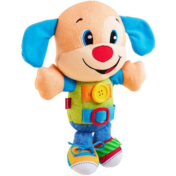 Cachorrinho Hora de Vestir Fisher Price Azul