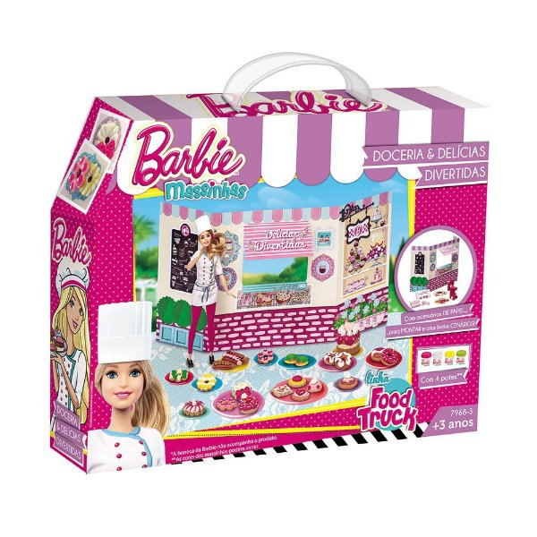 Food Truck da Barbie - Doceria e Delícias Divertidas