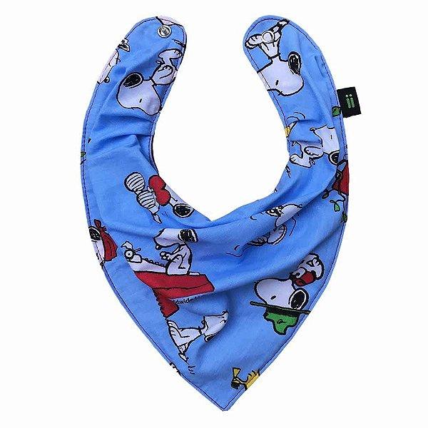 Babador Bandana Snoopy Azul