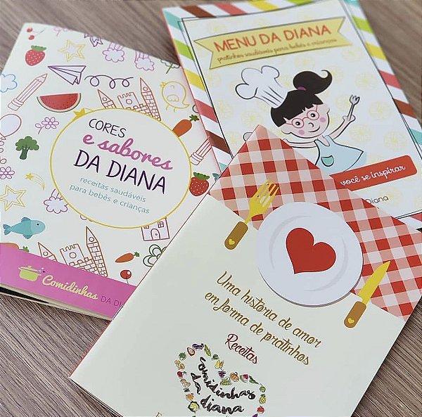 Kit Completo Comidinhas da Diana