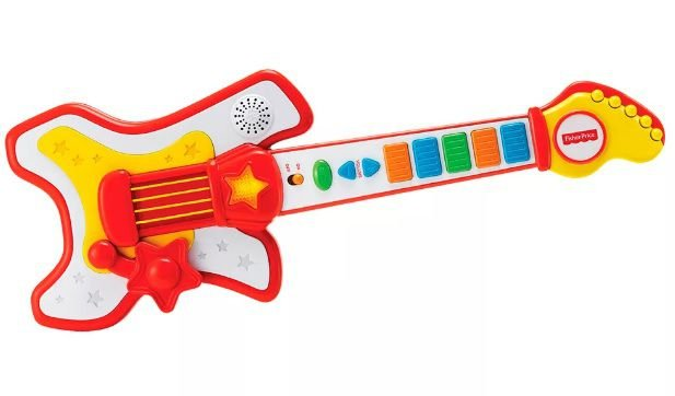 Guitarra Rockstar Fisher Price