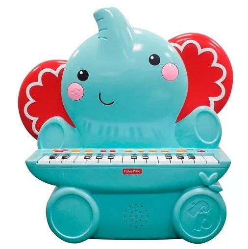 Teclado Elefante Fisher Price (Piano)