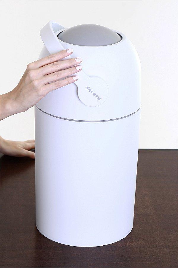 Lixo Mágico Anti-Odor Branco