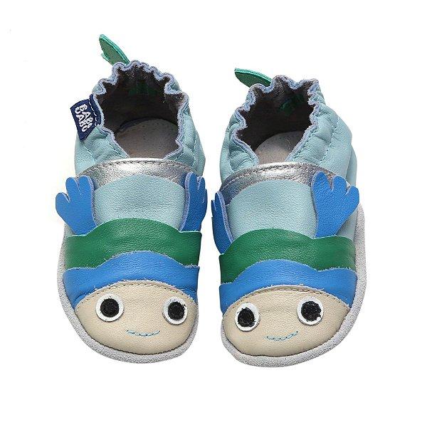 Sapato Babouabu Peixe Azul