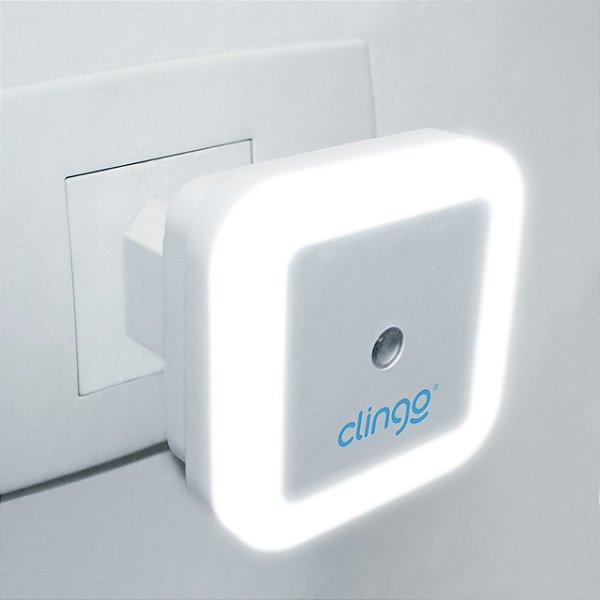 Luz noturna de Led com sensor square