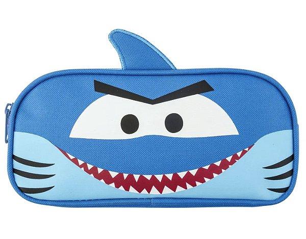 Estojo Escolar Tubarão