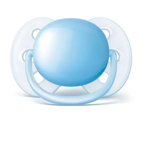 Chupeta Philips Avent Ultra Soft Lisa 0 a 6 Meses Azul (1 unidade)