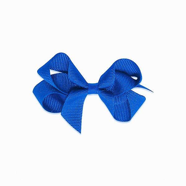 Laço em gorgurão azul bic Gumii (Pequeno 5cm)