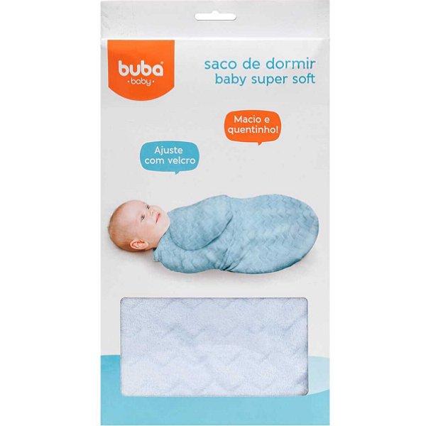 Saco de Dormir Macio Azul Buba (Cueiro)