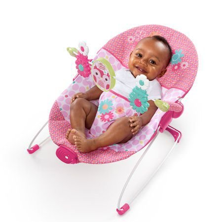 Cadeira de Descanso Corujinha Feliz Pretty Pink Bright Starts