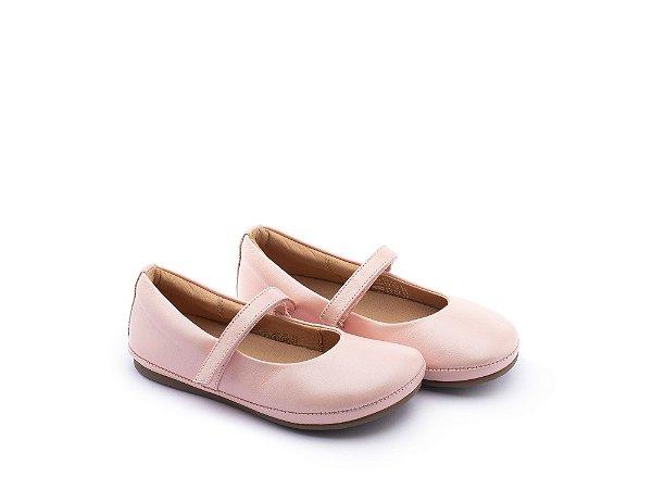 Sapato Little Twirl Walkers Rosa Pérola