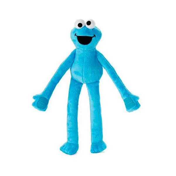 Fisher Price Vila Sésamo Pelucia Super Abraço Cookie Monster Come Come - Mattel