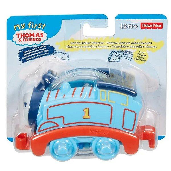 Thomas e seus Amigos Trenzinho Chocalho Azul - Mattel