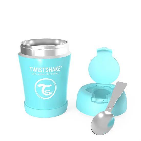Pote Térmico TwistShake Azul Pastel (350ml)