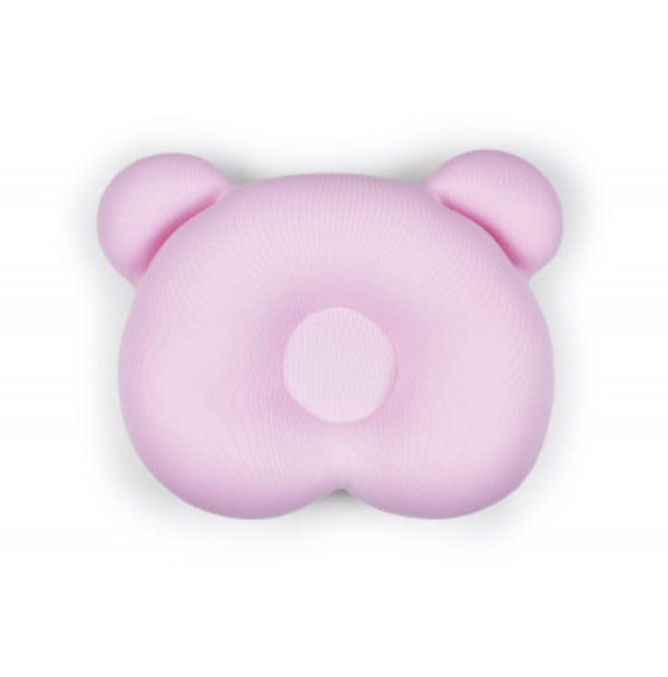 Almofada Ergonômica para cabeça Urso Rosa
