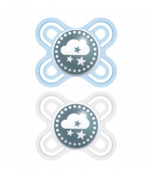 Chupeta MAM Perfect Start (0-2 meses) Azul