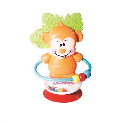 Brinquedo para Cadeirão com Ventosa Macaco Girotondo Baby