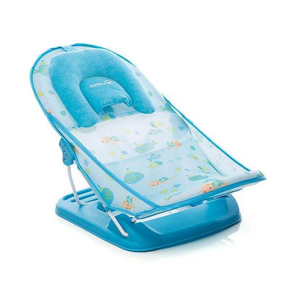 Banheira Baby Shower Safety 1st Azul