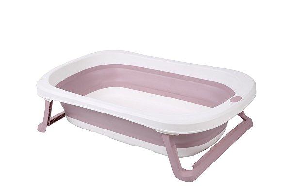 Banheira Pequena Rosa Baby Pil