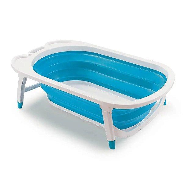 Banheira Dobrável Buba Azul