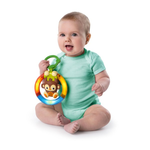 Brinquedo de Atividades Shake and Glow Monkey
