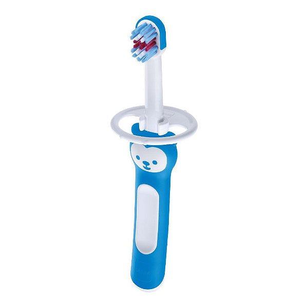 Escova de dentes MAM Azul (Baby's Brush) 6m+