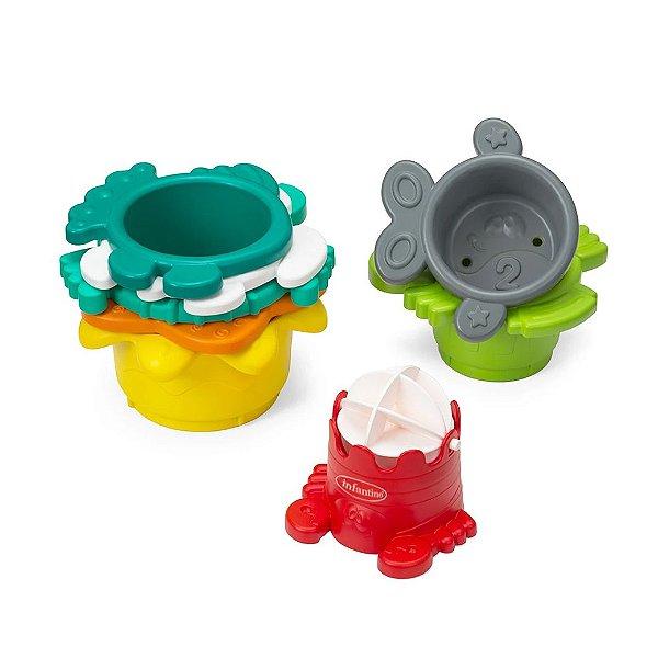 Brinquedo de Banho de Empilhar Interativo