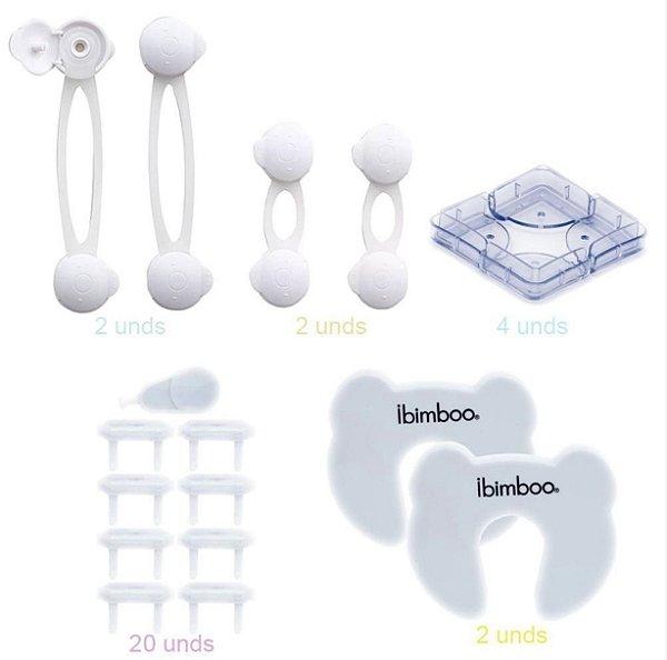 Kit de Segurança Completo Ibimboo