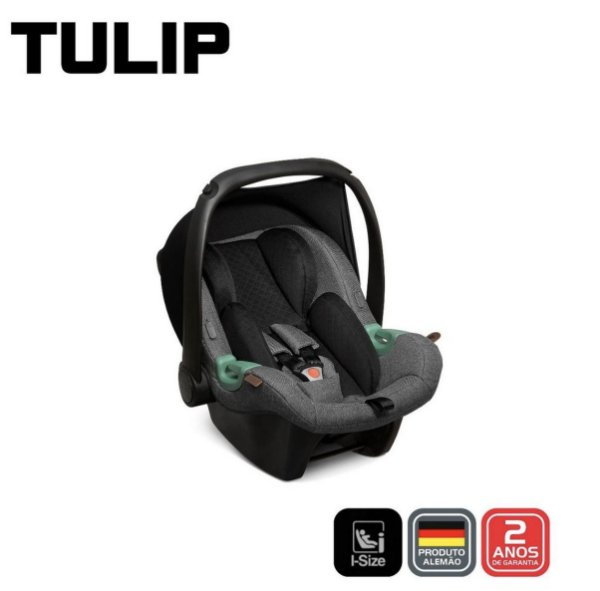 Bebê conforto Tulip Asphalt Diamante ABC Design