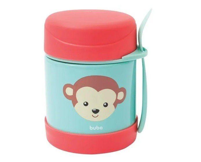 Pote Térmico Animal Fun Buba Macaco