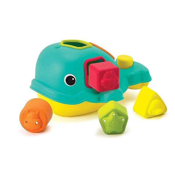 Brinquedo Interativo De Encaixe Baleia