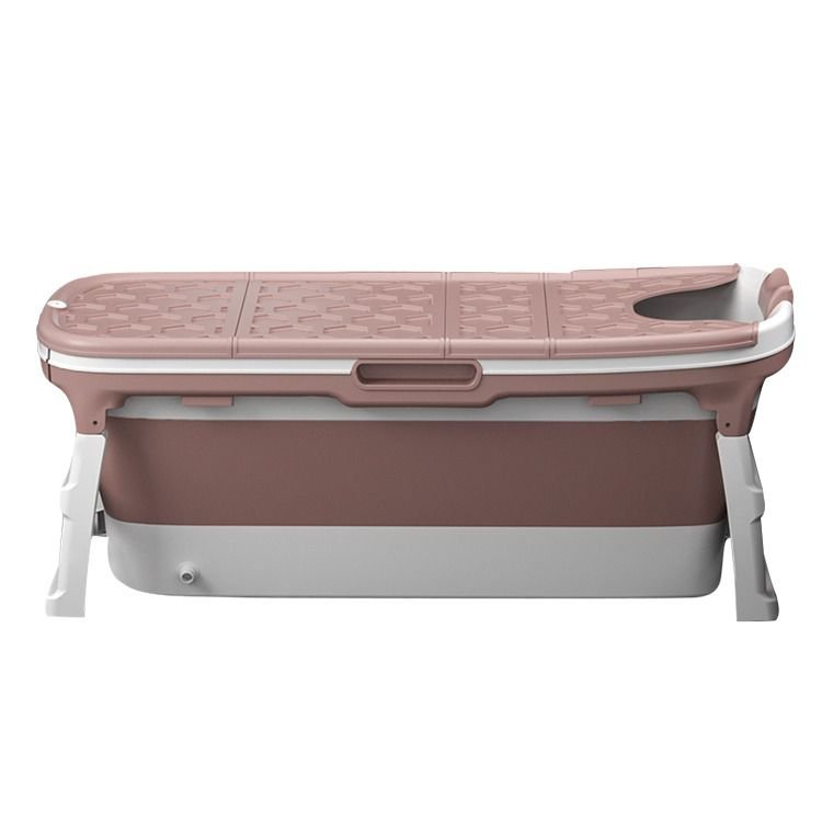 Banheira Grande Rosa Baby Pil com Cover