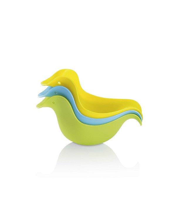 Patinhos Para Banho Quack Ducks 3 Pcs - Multikids