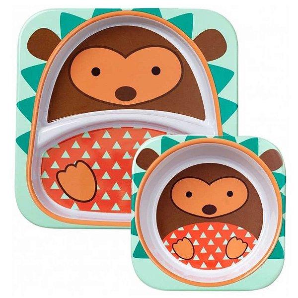 Set de pratos Skip Hop Zoo Porco Espinho