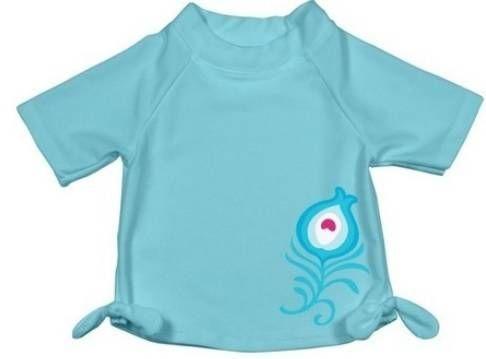 Camiseta Banho Lady Azul FPS50 iPlay