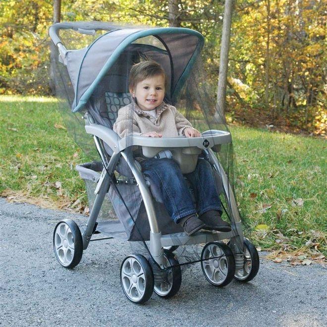 Mosquiteiro para carrinho de bebê Safety First