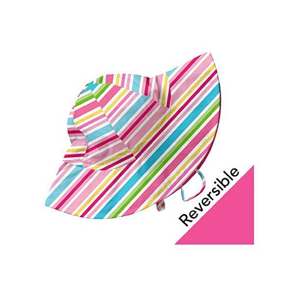 Chapéu de Banho Listrado Dupla Face FPS50 iPlay
