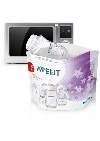 Sacos para esterilizar para microondas Avent