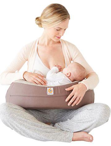 Nursing Pillow Brown + Capa Extra (Almofada para amamentação)
