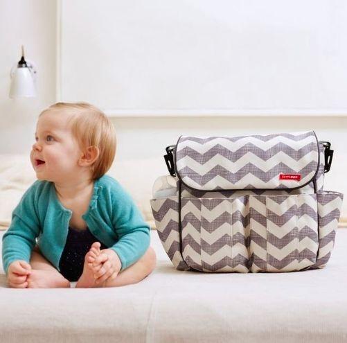 Bolsa Maternidade (Diaper Bag) Dash Chevron Skip Hop